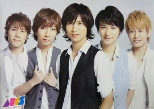 ポスター(A) A.B.C-Z 2012 「ずっとLOVE」 DVD購入特典 B2