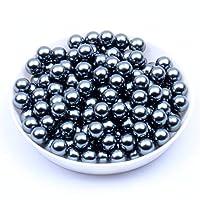 2.5ミリメートルマルチカラーオプション5000ピース/ロットabsラウンド穴なし模造真珠チャームスペーサールースビーズdiyクラフトスクラップブックの装飾(ダークグレー)