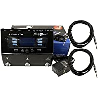 TC Helicon Play Acoustic Guitar FX Vocal Effects Pedal w/Power Supply and 2 Cables Bundle [並行輸入品]
