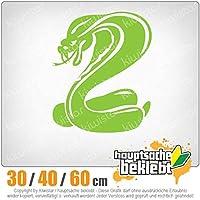KIWISTAR - Cobra symbol - snake head 15色 - ネオン+クロム! ステッカービニールオートバイ