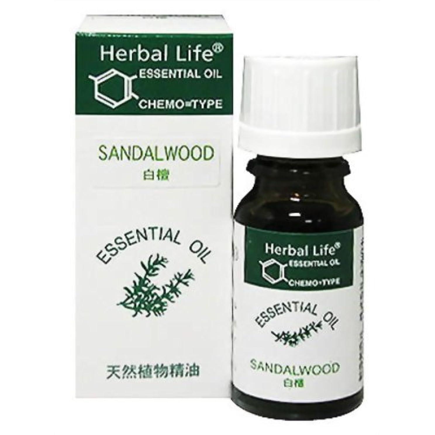 唇高価な火Herbal Life サンダルウッド 10ml