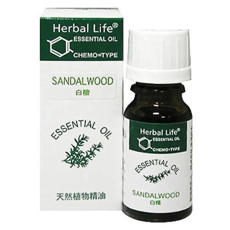 数学者ヘッジ画家Herbal Life サンダルウッド 10ml
