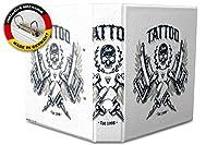 バインダー 2 Ring Binder Lever Arch Folder A4 printed Tattoo