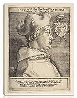 Albrecht Durer 伸びた ジクレー キャンバスに印刷-有名な絵画 美術品 ポスター -再生 壁の装飾 ハングする準備ができて(ブランデンブルクのアルブレヒト枢機1)#NK