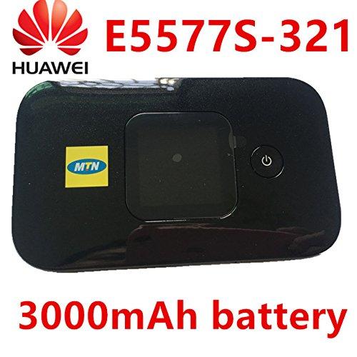 Huawei E5577Cs-321 海外SIMフリー モバイル WiFi ルーター 3000mAhバッテリー [並行輸入品]