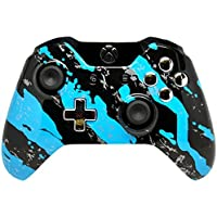 Blue Splatter Xbox One Rapid Fire Modded Controller 40 Mods for COD BO3, Destiny, GOW Quickscope, Jitter, Drop Shot, Auto Aim, Jump Shot, Auto Sprint, Fast Reload, Much More by Xbox One [並行輸入品]