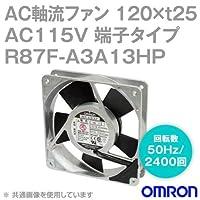 オムロン(OMRON) R87F-A3A13HP AC軸流ファン 115V (120×t25 端子タイプ) (回転数 50Hz 2400回) NN