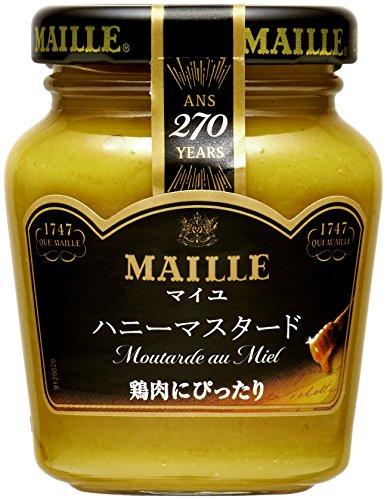 S&B MAILLE ハニーマスタード 120g×4個