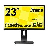 iiyama ディスプレイ モニター XUB2390HS-B2 23インチ/フルHD/スリムベゼル/HDMI端子付