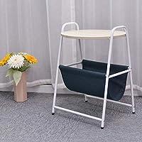 Nwn モバイル現代ミニマリストコーヒーテーブルシンプルな小さなテーブルホームベッドサイドテーブル (色 : B)