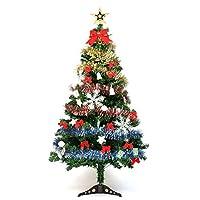 人工クリスマスツリーセット装飾pvc150cmライト販売スタンドの飾りつけ装飾ランタンツリートップ