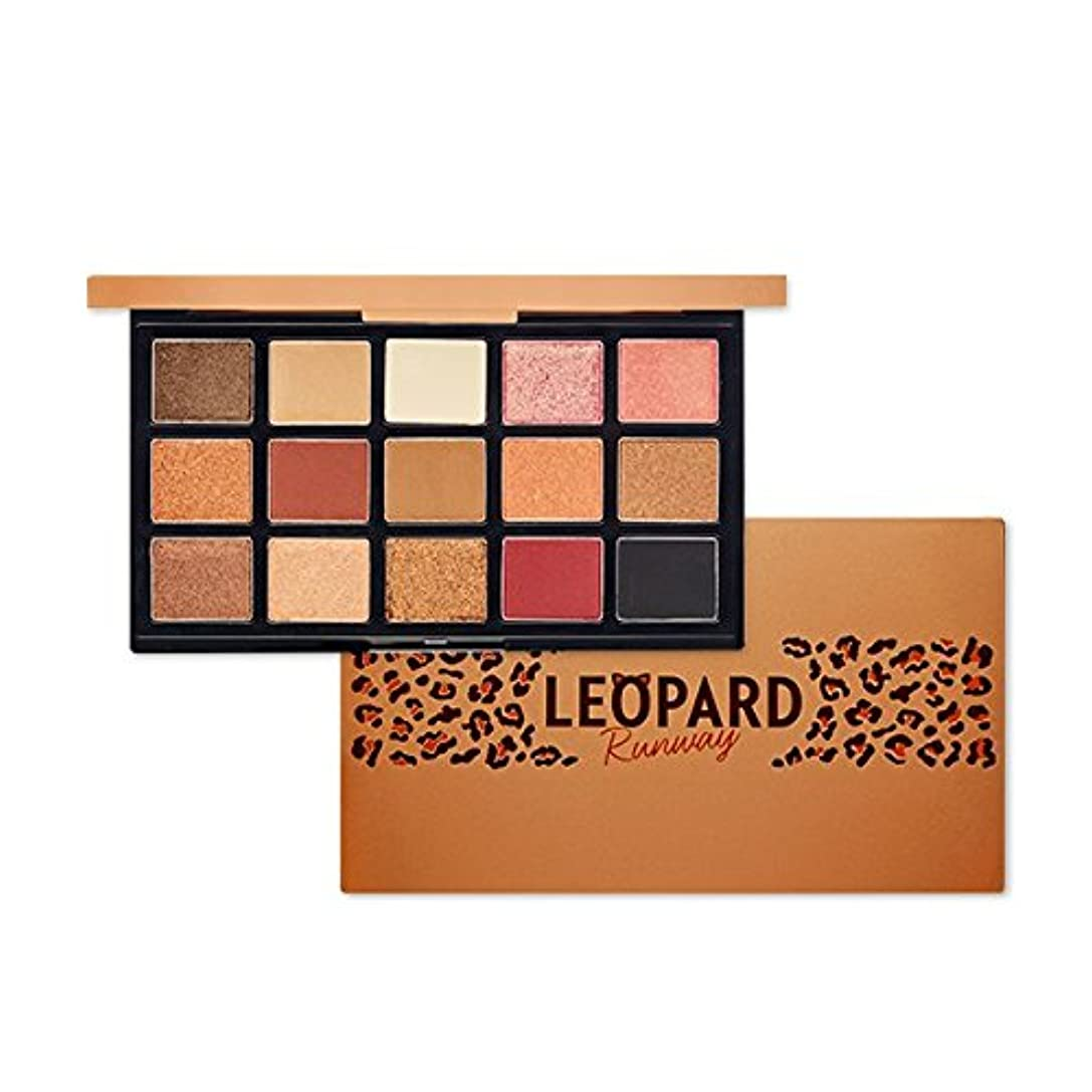 二年生血まみれの有名ETUDE HOUSE Play Color Eye Palette - Leopard Runway/エチュードハウスプレイカラーアイパレット - レオパードランウェイ [並行輸入品]
