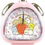 ティーズファクトリー 目覚まし時計 おむすびクロック いちごフェア すみっコぐらし ピンク 6×13.7×13.5cm SG-5520267IP