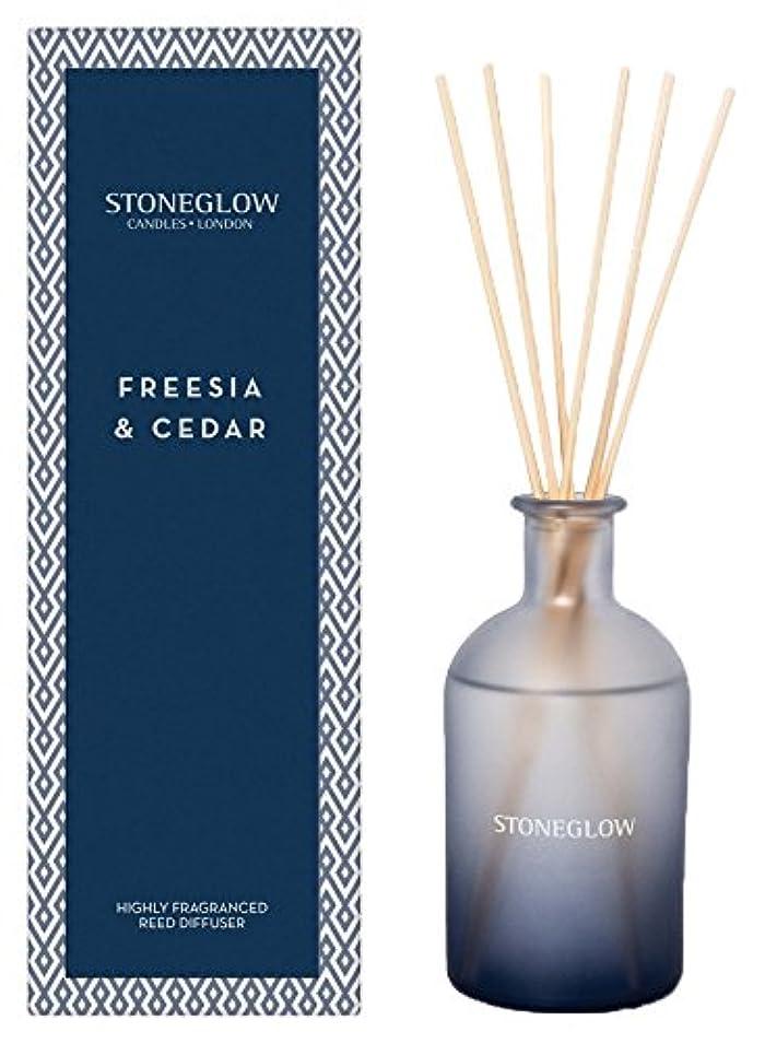 STONEGLOW (ストーングロー) リードディフューザー200ml / フリージア&シダー