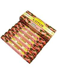 TULASI(トゥラシ) ロータス香 スティック LOTUS 6箱セット