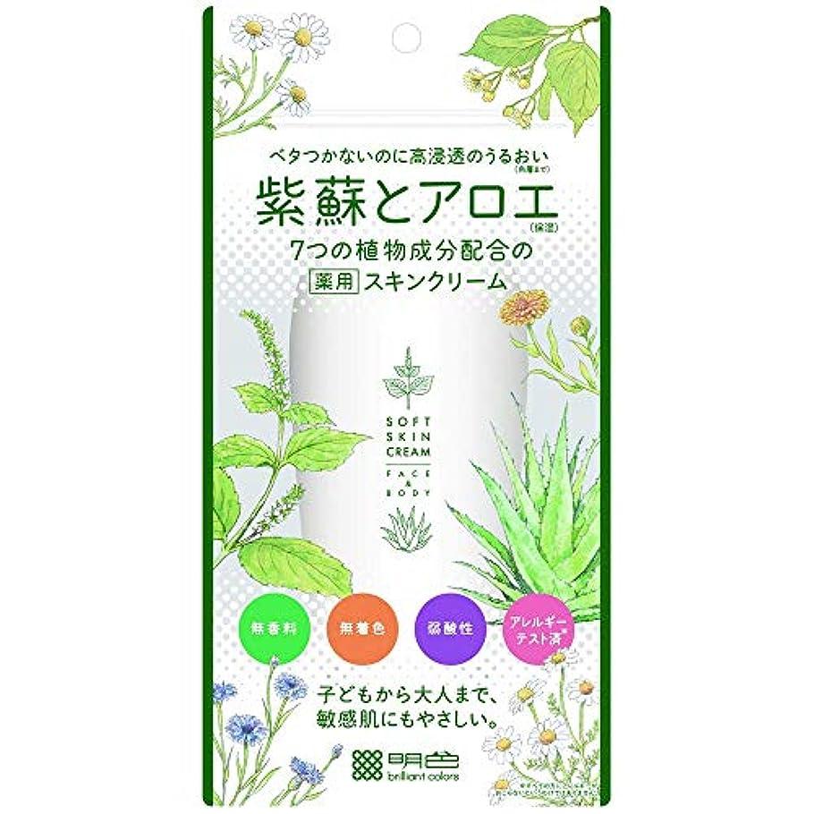 時自然公園メンバー【5個セット】紫蘇とアロエ 薬用スキンクリーム 190g