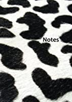 Notizbuch - Notes - Kuh: Kuhfell DIN A5 110 Seiten liniert (German Edition) [並行輸入品]
