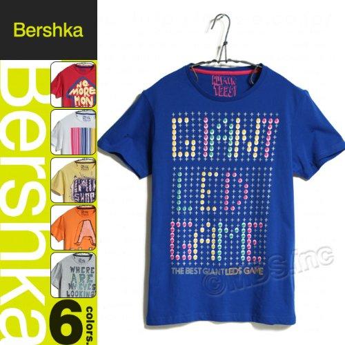 メンズ 半袖 プリント Tシャツ「7738-236」 ベルシュカ