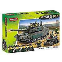 オックスフォード OXford Oxford Block Bricks Cobra combatant CJ3653 military K2 Black Panther tank and UGV set