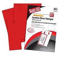 Blanks USA Sumac Redジャンボドアハンガー–81/ 2x 11in 65lbカバー30%リサイクルカット済み250per Package