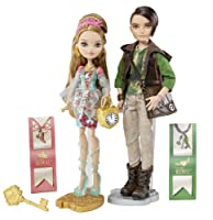 Ever After High Ashlynn Ella & Hunter Huntsman Doll 2-Pack エバーアフターハイ アシュリン・エラ&ハンター・ハンツマン ドール 【並行輸入品】