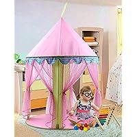 プリンセステント、AnyshockベビーおもちゃPlay Tent House Princess Castle Pop Upテントアウトドア、インドア1 – 8歳の古い子供用Girls Toddler幼児 Princess house-01
