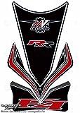 MOTOGRAFIX(モトグラフィックス) タンクパッド MV AGUSTA MVA4 RR ブラック MT-TM004K