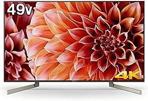 ソニー SONY 49V型 4K対応 液晶 テレビ ブラビア KJ-49X9000F (2018年モデル)