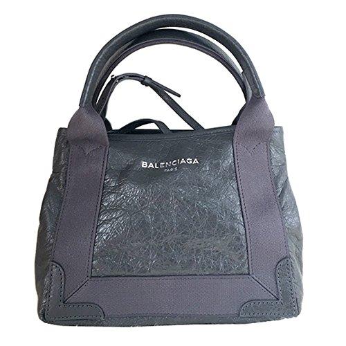 BALENCIAGA NAVY CABAS SMALL BLACK バレンシアガ ネイビーカバ スモール グレー 灰色 トート バッグ