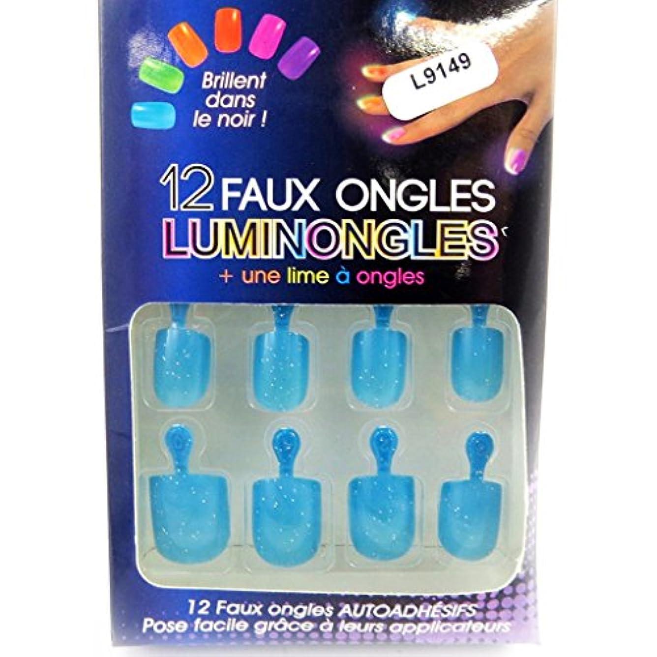 半円感じる帳面[リリーの宝 (Les Tresors De Lily)] (Luminongles コレクション) [L9149] アクリルスカルプチュア ブルー