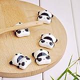 箸置き かわいい パンダ ギフト シンプル 和食器 おもしろ 萌え パンダ セット 5個入り アイテム