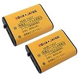 【2個セット】【大容量/通話時間1.2倍】 PANASONIC KX-FAN51 HHR-T407 CT-092 電池パック-092 TEL-B2078H コードレスホン 子機 充電池 互換 電話機 バッテリー JANコード:4571476510059 【ロワジャパン】