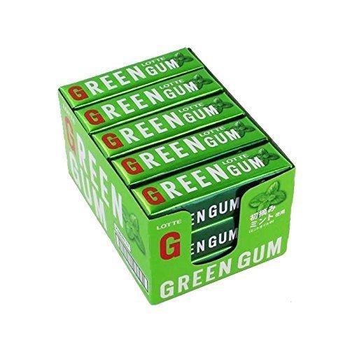 グリーンガム 初摘みミント使用 9枚