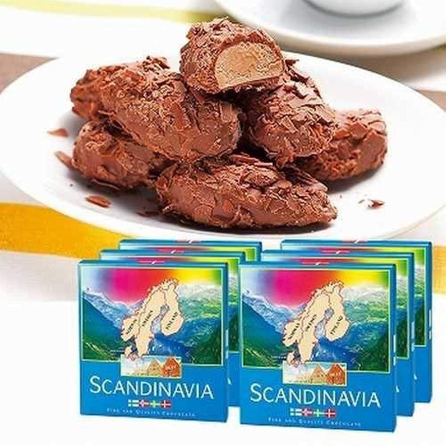 リビジョンヶ月目韓国スカンジナビア フレーク トリュフ チョコレート 6箱セット【スウェーデン 海外土産 輸入食品 スイーツ】