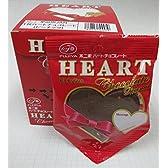不二家 HEART ハート チョコレート ピーナッツ 1箱(10枚入)