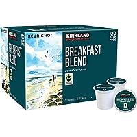 Kirkland Signature Breakfast Blend Coffee, Light Roast, 120 K-Cup カークランド K-cup ブレックファストブレンド 120個入り [並行輸入品]