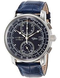 [ツェッペリン]ZEPPELIN 腕時計 100周年 ブルー文字盤 86703 メンズ 【正規輸入品】