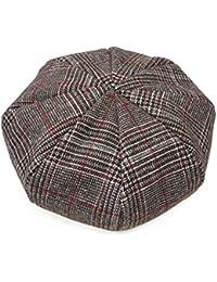 PENNANTBANNERS 帽子 ベレー帽 メンズ レディース メンズベレー グレンチェック ベレー 大きい 秋 冬