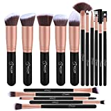 Makeup Brushes 16 PCs Makeup Brush Set Premium Synthetic Foundation Brush Blending Face Powder Blush Concealers Eye Shadows Make Up Brushes Kit