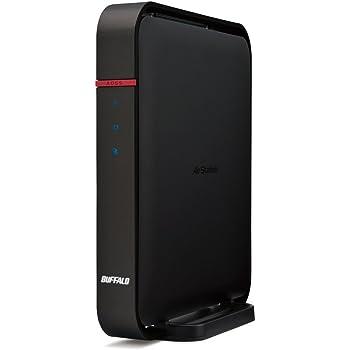 BUFFALO【iphone6 対応】11ac/n/a/b/g 無線LAN親機(Wi-Fiルーター) エアステーション AOSS2 ハイパワー Giga 866+300Mbps WZR-1166DHP2 (利用推奨環境5人・4LDK・3階建)