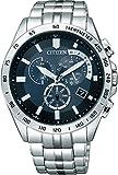 [シチズン]CITIZEN 腕時計 Citizen Collection シチズン コレクション Eco-Drive エコ・ドライブ 電波時計 クロノグラフ AT3000-59L メ..