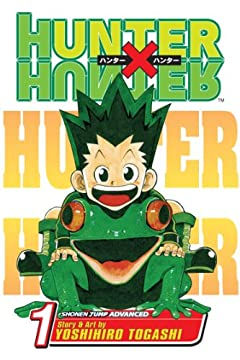 Hunter x Hunter, Vol. 1: The Day of Departureの書影