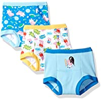 Peppa Pig Boys BTP6028 3-Pack Peppa Boy Training Pant Underwear - Multi