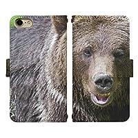 iPhone 6s ベルト有り 手帳型 スマホケース スマホカバー di396(D) 熊 くま クマ ベアー アイフォン6s アイフォンシックスs スマートフォン スマートホン 携帯 ケース アイホン6s アイホンシックスs 手帳 ダイアリー フリップ スマフォ カバー