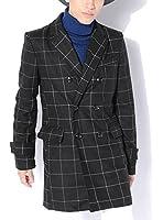 (ベストマート)BestMart 英国スタイル ウール ダブル チェスターコート メンズ ロング 618917