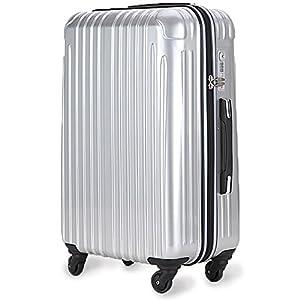 超軽量 2年保証 スーツケース TSAロック搭...の関連商品3