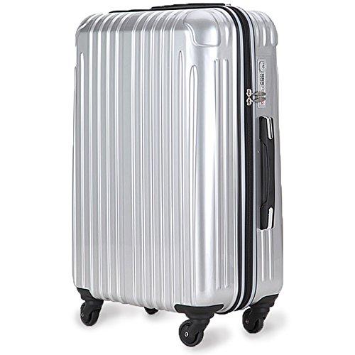 超軽量 2年保証 スーツケース TSAロック搭載 旅行バック...
