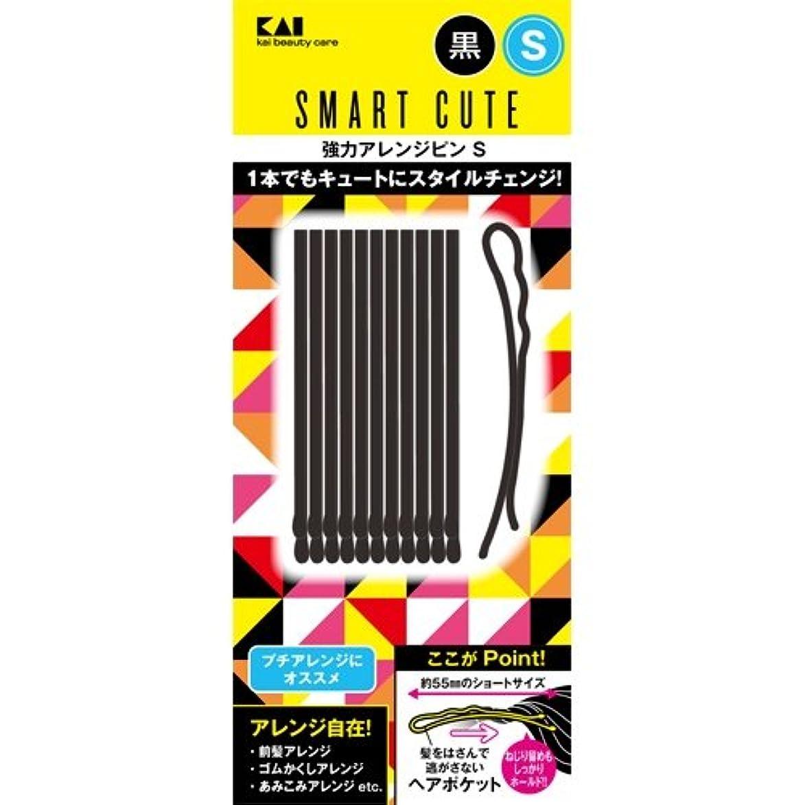ラフ睡眠広く複雑スマートキュート(SmartCute) 強力アレンジピンS (黒 ) HC3318