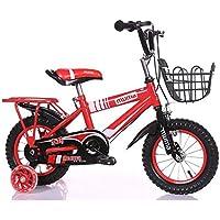 Brisk-子供時代 子供用の自転車、トレーニングホイール付きユニセックス子供用自転車、様々なトレンディな機能、12,14,16および18インチ、おしゃれな男の子と女の子のための贈り物 -アウトドアスポーツ