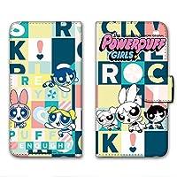 パワーパフガールズ Disney Mobile on docomo DM-01G ケース 手帳型 プリント手帳 デザインD-D (ppg-019) カード収納 スタンド機能 WN-LC269183-MX